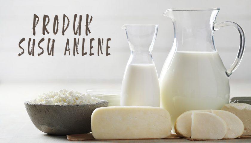 macam macam produk susu anlene saat ini